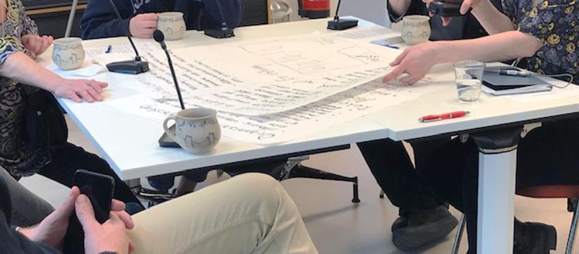 Deltagarna diskuterade i tre olika grupper