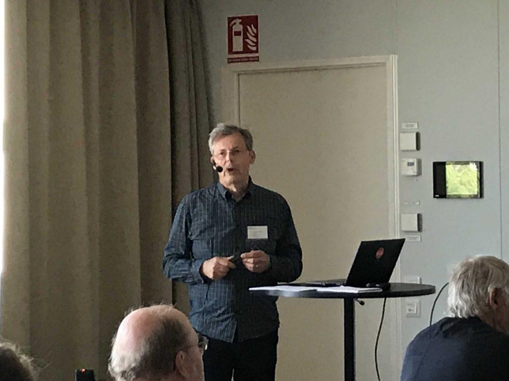 Bo Westerlund från Konstfack berättade om samskapande metoder.