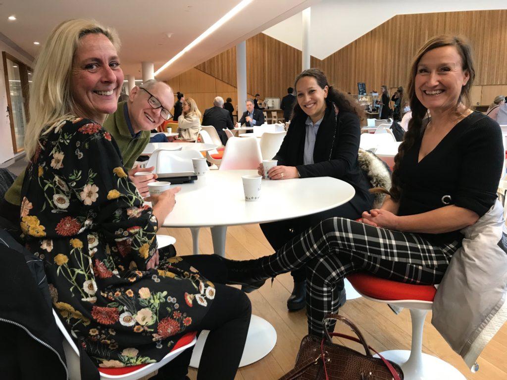 På bilden från vänster: Åsa von Dahn, Conexi, Emil Erdtman och Diana Chafik, Rätt från början, Emma Lundgren, Funktionsrätt Västmanland