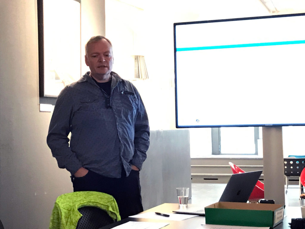 Stefan Johansson leder workshopen
