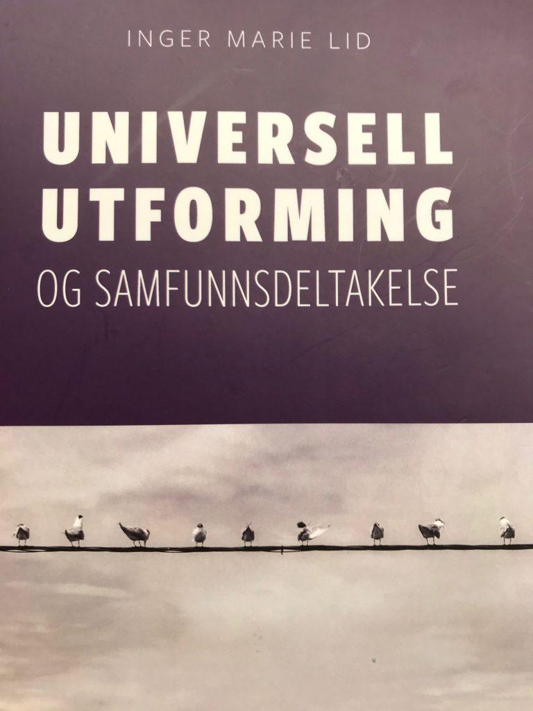 Bokomslag Universell utformning og samfunnsdeltakelse
