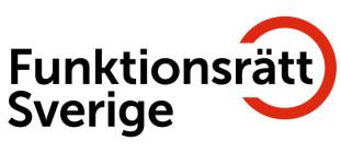 Logotyp Funktionsrätt Sverige