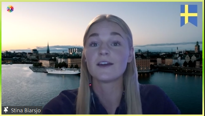 Bilden visar Stina Biärsjö från Microsoft